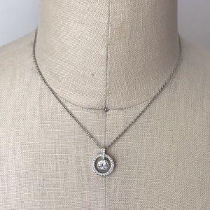 Swarovski Circle Crystal Necklace
